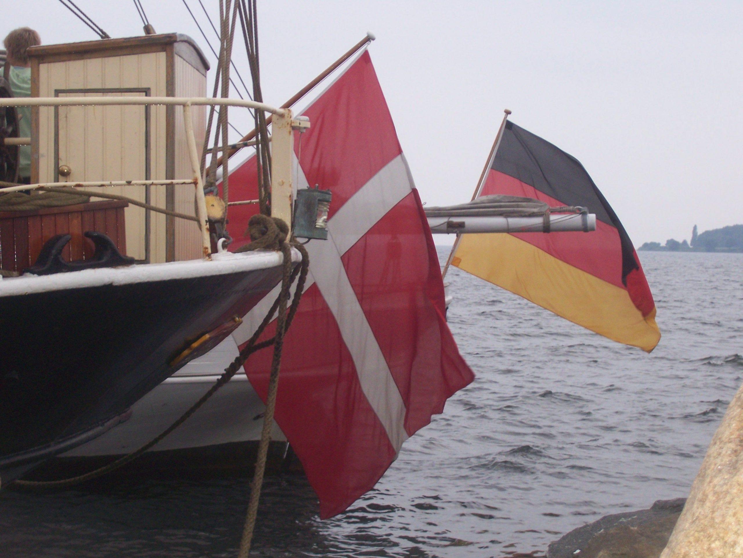 Nebeneinander in einem dänischen Hafen. Man spricht sønderjysk. (C) Clees